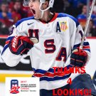 COLIN WHITE 2017 USA WORLD JUNIOR CHAMPIONSHIPS HOCKEY CARD