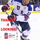 JORDAN GREENWAY 2017 USA WORLD JUNIOR CHAMPIONSHIPS HOCKEY CARD