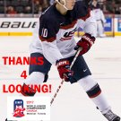 TANNER LACZYNSKI 2017 USA WORLD JUNIOR CHAMPIONSHIPS HOCKEY CARD