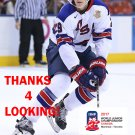 TAGE THOMPSON 2017 USA WORLD JUNIOR CHAMPIONSHIPS HOCKEY CARD