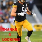 ANTHONY CHICKILLO 2015 PITTSBURGH STEELERS FOOTBALL CARD