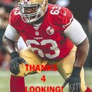 NORMAN PRICE 2016 SAN FRANCISCO 49ERS FOOTBALL CARD