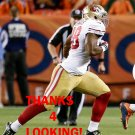 WYNTON McMANIS 2016 SAN FRANCISCO 49ERS FOOTBALL CARD