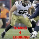 JACK ALLEN 2016 NEW ORLEANS SAINTS FOOTBALL CARD