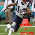 MICHAEL FLOYD 2016 NEW ENGLAND PATRIOTS FOOTBALL CARD