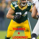 DEAN LOWRY 2016 GREEN BAY PACKERS FOOTBALL CARD