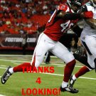 DAMIAN PARMS 2016 ATLANTA FALCONS FOOTBALL CARD