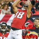 JORDAN LESLIE 2016 ATLANTA FALCONS FOOTBALL CARD