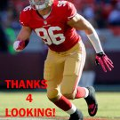 ERIC BAKHTIARI 2012 SAN FRANCISCO 49ERS FOOTBALL CARD