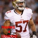 MICHAEL WILHOITE 2013 SAN FRANCISCO 49ERS FOOTBALL CARD