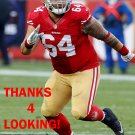 MIKE PURCELL 2014 SAN FRANCISCO 49ERS FOOTBALL CARD