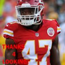 SHAK RANDOLPH 2016 KANSAS CITY CHIEFS FOOTBALL CARD