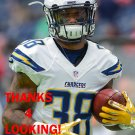 TROVON REED 2016 SAN DIEGO CHARGERS FOOTBALL CARD