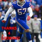 LORENZO ALEXANDER 2016 BUFFALO BILLS FOOTBALL CARD