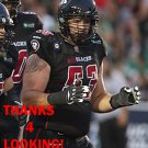 MATTHEW ALBRIGHT 2016 OTTAWA REDBLACKS  CFL FOOTBALL CARD