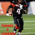 JAMILL SMITH 2016 OTTAWA REDBLACKS  CFL FOOTBALL CARD