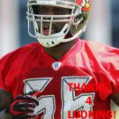 CHAZ SUTTON 2014 TAMPA BAY BUCCANEERS FOOTBALL CARD
