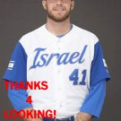 DANNY BURAWA 2017 TEAM ISRAEL WORLD BASEBALL CLASSIC CARD