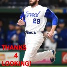 IKE DAVIS 2017 TEAM ISRAEL WORLD BASEBALL CLASSIC CARD
