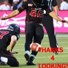DELBERT ALVARADO 2015 OTTAWA REDBLACKS  CFL FOOTBALL CARD