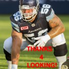 COREY WATMAN 2016 TORONTO ARGONAUTS CFL FOOTBALL CARD
