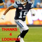 DEVIN SMITH 2016 TORONTO ARGONAUTS CFL FOOTBALL CARD