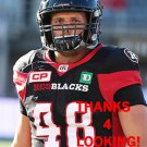 JON BEAULIEU-RICHARD 2016 OTTAWA REDBLACKS  CFL FOOTBALL CARD