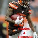 MARIO ALFORD 2016 CLEVELAND BROWNS FOOTBALL CARD