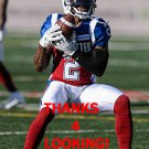 JOVON JOHNSON 2016 MONTREAL ALOUETTES CFL FOOTBALL CARD