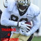 RASHAUN ALLEN 2016 NEW ORLEANS SAINTS FOOTBALL CARD