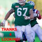 DAN CLARK 2016 SASKATCHEWAN ROUGHRIDERS CFL FOOTBALL CARD