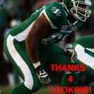 THADDEUS COLEMAN 2016 SASKATCHEWAN ROUGHRIDERS CFL FOOTBALL CARD