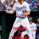 BRANDON MOSS 2017 KANSAS CITY ROYALS BASEBALL CARD