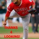 YUSMEIRO PETIT 2017 LOS ANGELES ANGELS  BASEBALL CARD