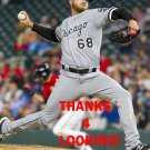 DYLAN COVEY 2017 CHICAGO WHITE SOX BASEBALL CARD