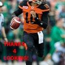JONATHON JENNINGS 2016 BC LIONS CFL FOOTBALL CARD