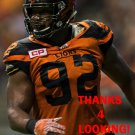 BRYANT TURNER 2016 BC LIONS CFL FOOTBALL CARD