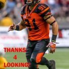 CAMERON ONTKO 2016 BC LIONS CFL FOOTBALL CARD
