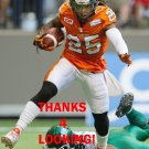RONNIE YELL 2016 BC LIONS CFL FOOTBALL CARD
