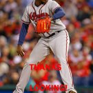 JOSE RAMIREZ 2016 ATLANTA BRAVES BASEBALL CARD