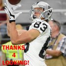 MAX McCAFFREY 2016 OAKLAND RAIDERS FOOTBALL CARD