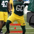 RUBEN DEMOSTHENES 2017 GREEN BAY PACKERS FOOTBALL CARD