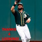 JAFF DECKER 2017 OAKLAND ATHLETICS  BASEBALL CARD