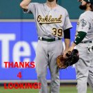 RYAN LaMARRE 2017 OAKLAND ATHLETICS  BASEBALL CARD