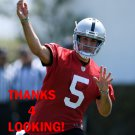 GARRETT SAFRON 2015 OAKLAND RAIDERS FOOTBALL CARD