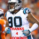 PAUL SOLIAI 2016 CAROLINA PANTHERS FOOTBALL CARD