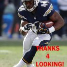 ANDRE WILLIAMS 2016 SAN DIEGO CHARGERS FOOTBALL CARD