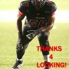 D.J. YOUNG 2014 OTTAWA REDBLACKS  CFL FOOTBALL CARD