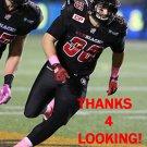 NICK ROSAMONDA 2015 OTTAWA REDBLACKS  CFL FOOTBALL CARD