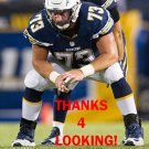 SPENCER PULLEY 2016 SAN DIEGO CHARGERS FOOTBALL CARD